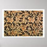 Diseño de la cortina del rastro del jazmín, 1868-7 impresiones