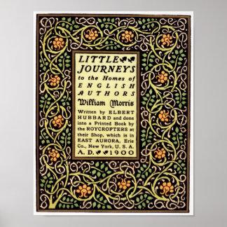 Diseño de la cubierta de libro del movimiento de a póster