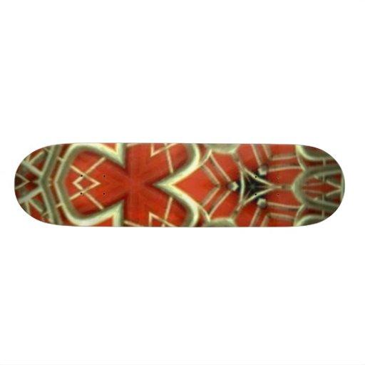 Diseño de la cubierta del monopatín: Rexy