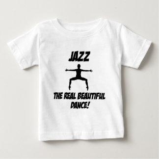 diseño de la danza del jazz playera para bebé