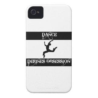 diseño de la danza Case-Mate iPhone 4 coberturas