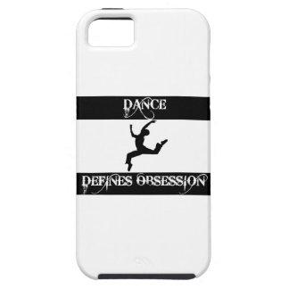 diseño de la danza iPhone 5 funda