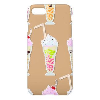 Diseño de la diversión del batido de leche en funda para iPhone 7