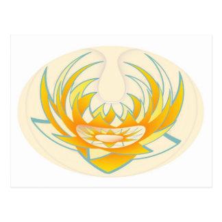 Diseño de la energía del fuego de LOTUS Postal
