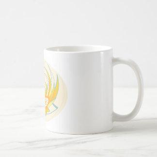 Diseño de la energía del fuego de LOTUS Tazas De Café