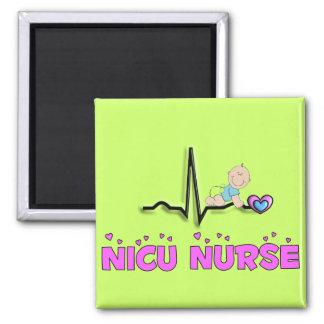 Diseño de la enfermera QRS de NICU Imán Cuadrado
