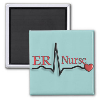Diseño de la enfermera QRS del ER Imán Cuadrado