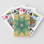 ¡Diseño de la estrella de Quilter! Cartas De Juego