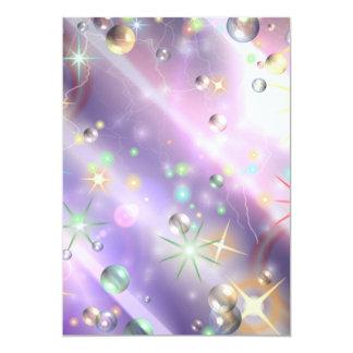 Diseño de la estrella invitaciones personales