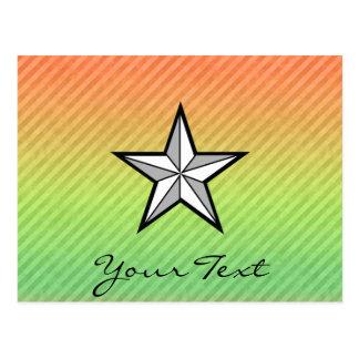 Diseño de la estrella postal