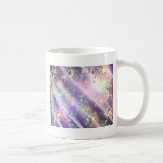 Diseño de la estrella taza básica blanca