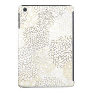 Diseño de la explosión de la arcilla y de la flor carcasa para iPad mini
