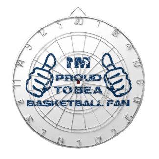 Diseño de la fan de baloncesto