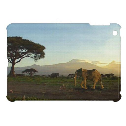 Diseño de la fauna del elefante africano para los