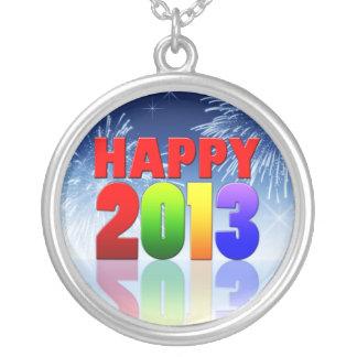 Diseño de la Feliz Año Nuevo Colgante Personalizado
