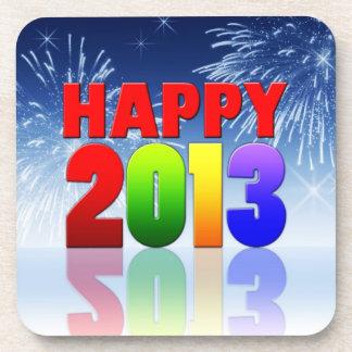 Diseño de la Feliz Año Nuevo Posavaso