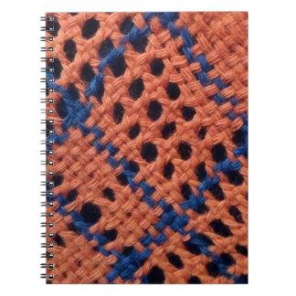 Diseño de la fibra libreta espiral