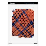 Diseño de la fibra pegatina skin para iPad 3