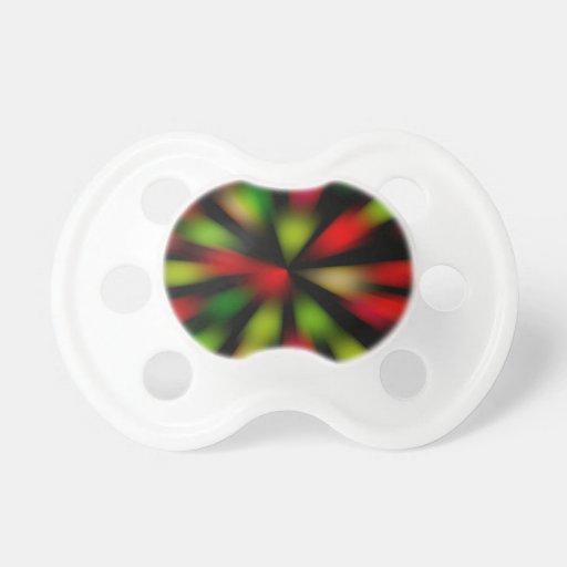 Diseño de la fiebre del disco chupetes para bebes