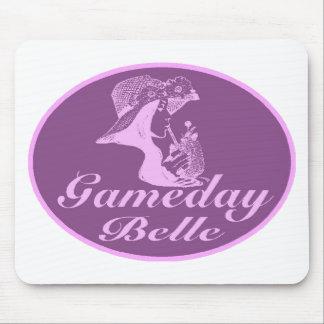 Diseño de la firma de la belleza de Gameday Mouse Pads
