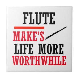 diseño de la flauta tejas  cerámicas