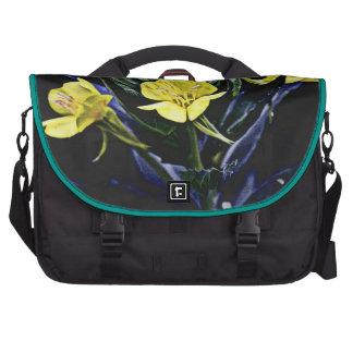 Diseño de la flora bolsas de portatil