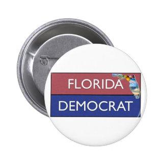 DISEÑO DE LA FLORIDA DEMÓCRATA PINS