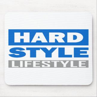 Diseño de la forma de vida de Hardstyle Alfombrillas De Raton