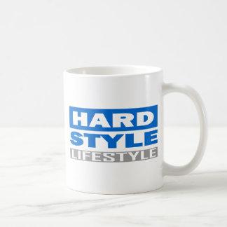 Diseño de la forma de vida de Hardstyle Tazas De Café