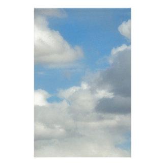 Diseño de la foto de la nube 9 para los productos  papeleria