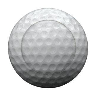 Diseño de la foto de la pelota de golf paquete pequeño de tapa botones