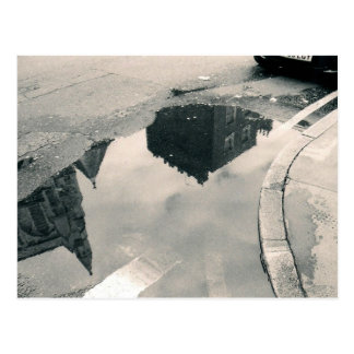 Diseño de la foto de la reflexión tarjeta postal