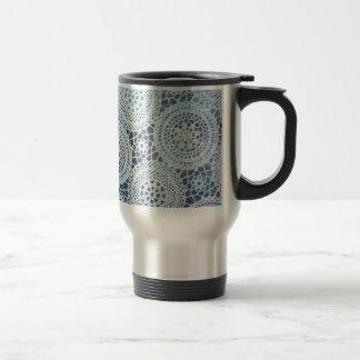 Diseño de la foto de los tapetitos del vintage taza de café