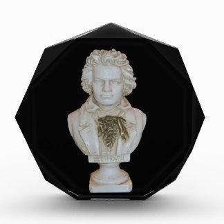 Diseño de la foto del busto de Beethoven de Leslie