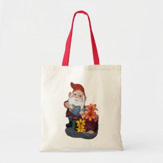 Diseño de la foto del gnomo bolsa