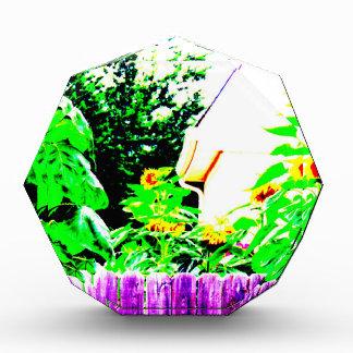 Diseño de la foto del jardín del girasol del