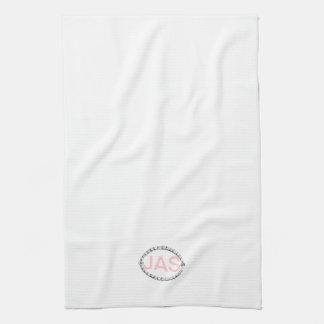 Diseño de la frontera del vintage con las toallas