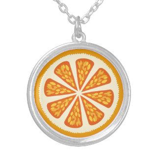 diseño de la fruta cítrica collares personalizados