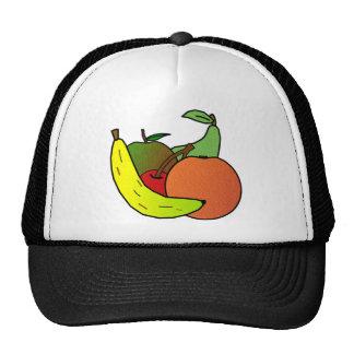 diseño de la fruta gorras