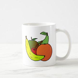 diseño de la fruta taza clásica