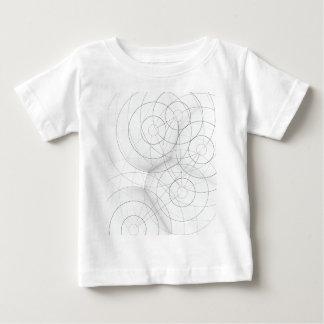 Diseño de la gota del círculo remeras