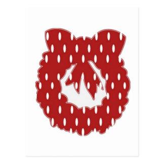 Diseño de la guirnalda de RedDot WhiteDot por Postales