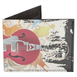 Diseño de la guitarra eléctrica billeteras tyvek®