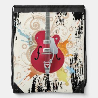 Diseño de la guitarra eléctrica mochila