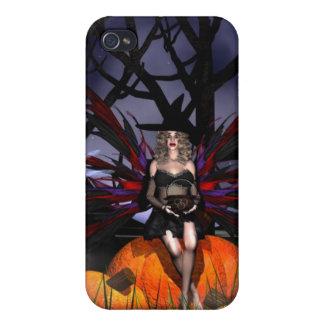 Diseño de la hada Witch-2012 iPhone 4 Fundas
