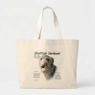 Diseño de la historia de Deerhound del escocés Bolsa