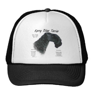 Diseño de la historia de Terrier de azul de Kerry Gorros Bordados