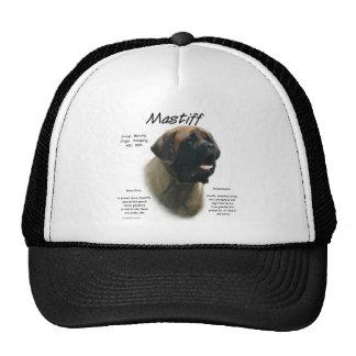 Diseño de la historia del mastín (albaricoque) gorras