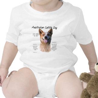 Diseño de la historia del perro de trajes de bebé