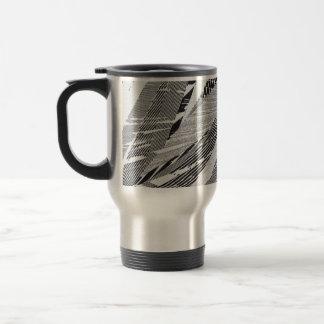 Diseño de la hoja de la palmera taza térmica